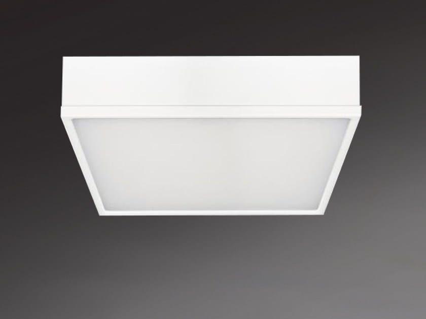 LED direct light ceiling light MILANO SQUARE 8873 by Metalmek