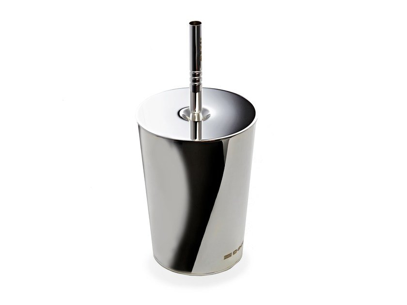 Silver liquid soap dispenser MILKSHAKE - IVAR