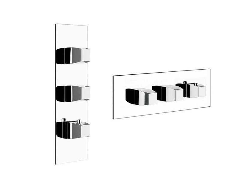 3 hole thermostatic shower mixer MIMI WELLNESS 43084 - Gessi
