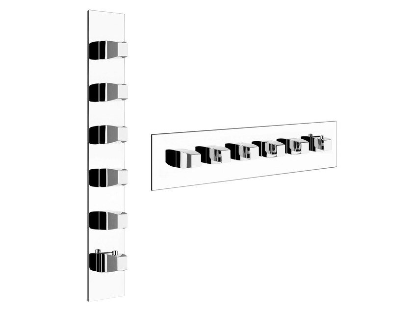 Thermostatic shower mixer with plate MIMI WELLNESS 43090 - Gessi