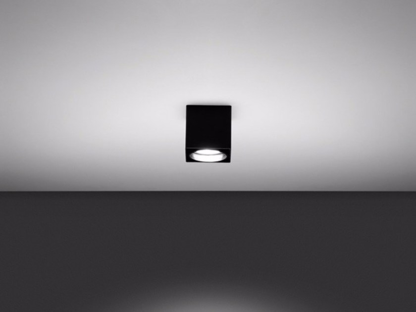 Ceiling metal spotlight MINI FORMAT - DAVIDE GROPPI