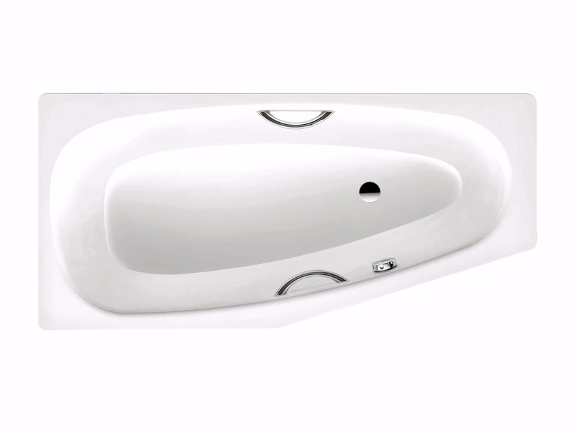 Built-in enamelled steel bathtub MINI STAR destra by Kaldewei Italia