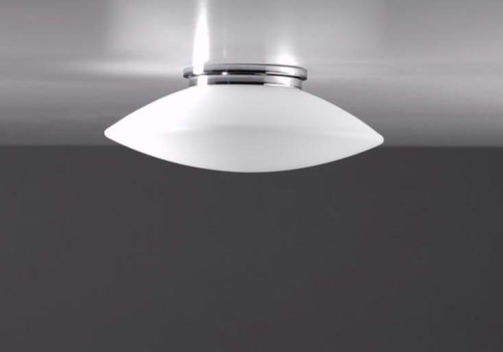 LED blown glass built-in lamp MINIELBA | Built-in lamp - Ailati Lights