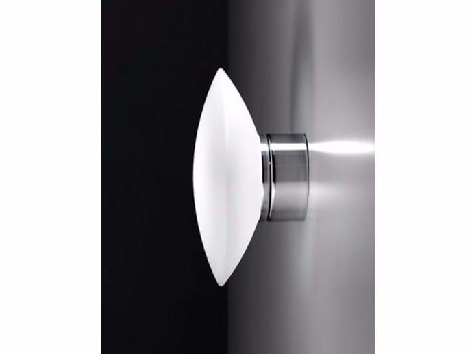 LED glass wall lamp MINIELBA | Wall lamp - Ailati Lights