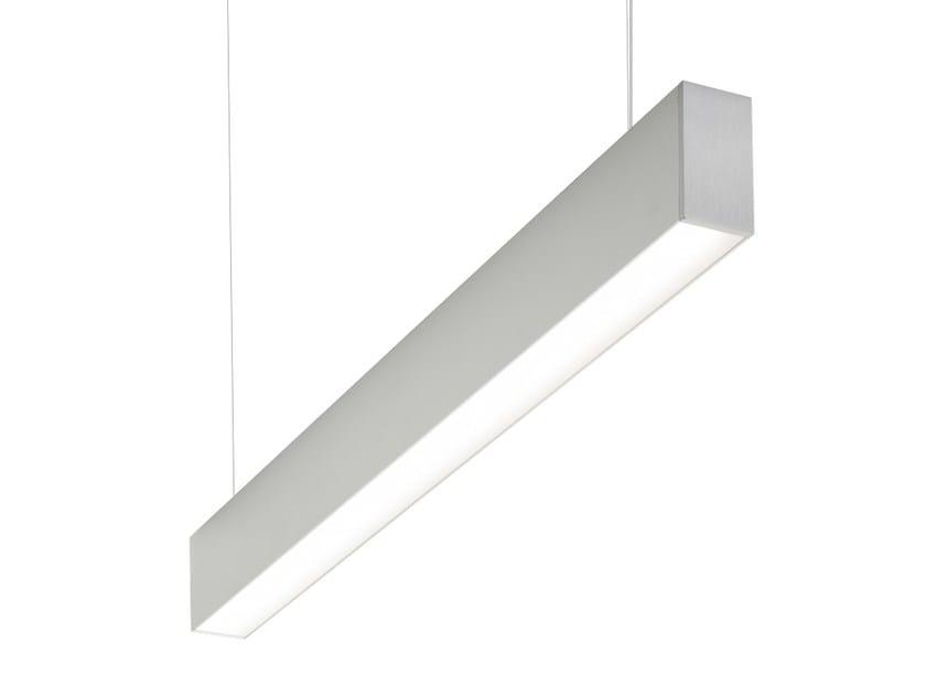 Extruded aluminium pendant lamp MINIFILE   Pendant lamp by LUCIFERO'S