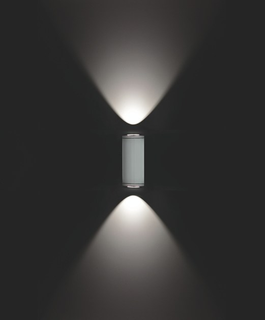 Contemporary style direct-indirect light aluminium Wall Lamp MINIMOK F.6853 - Francesconi & C.