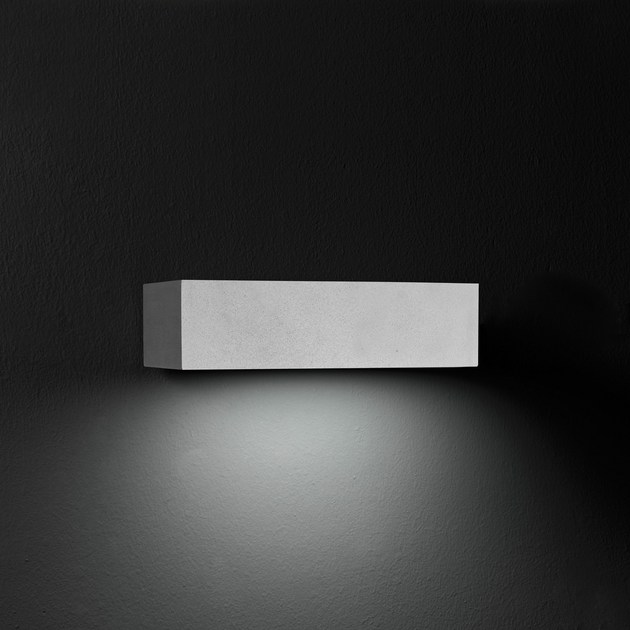 Direct light die cast aluminium wall lamp MINISLIM F.8228 by Francesconi & C.