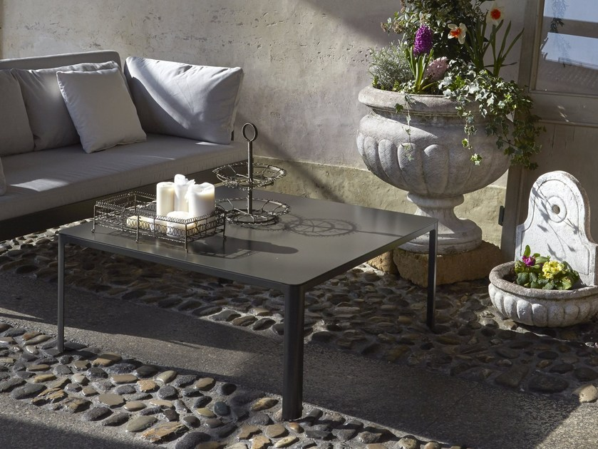 Square aluminium coffee table MINNY COFFEE TABLE | Coffee table - iCarraro italian makers