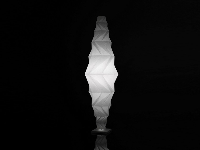 LED recycled material floor lamp MINOMUSHI | Floor lamp - Artemide