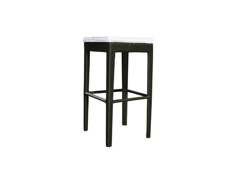 High garden stool with footrest MINT - Atmosphera
