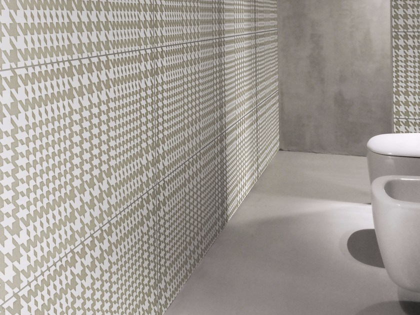 Indoor glazed stoneware wall tiles MISERIA E NOBILTÀ | Wall tiles - ORNAMENTA