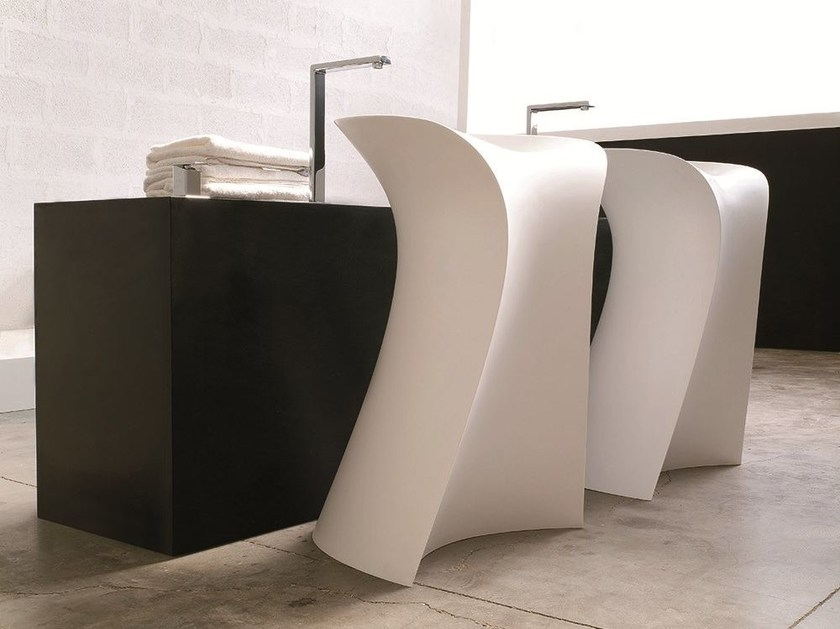 Freestanding washbasin MISS - Hidra Ceramica