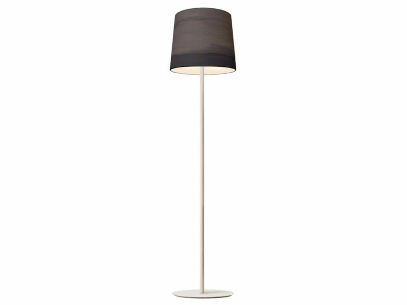 Handmade fabric floor lamp MIST | Floor lamp - Mammalampa