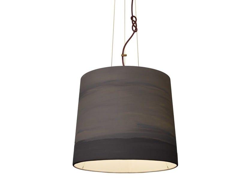 Handmade fabric pendant lamp MIST | Pendant lamp - Mammalampa