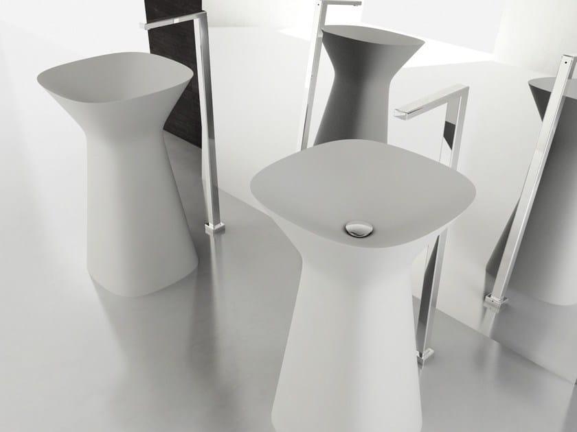 Freestanding washbasin MISTER - Hidra Ceramica