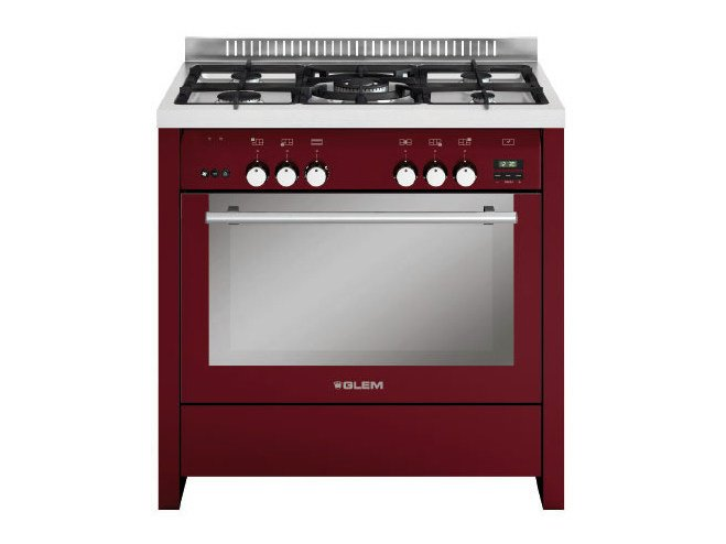 Steel cooker ML912VBR | Cooker - Glem Gas