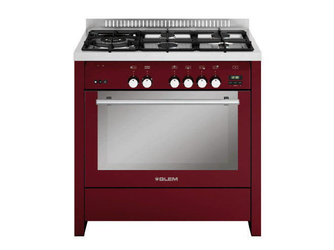 Steel cooker ML944RBR | Cooker - Glem Gas