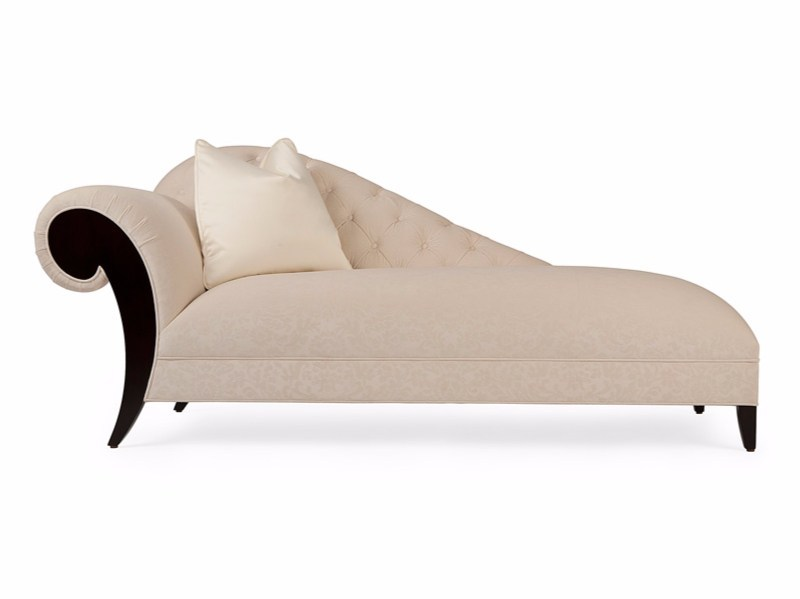 Tufted fabric day bed MOËT GAUCHE - Christopher Guy