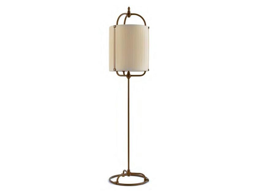 Indirect light fabric floor lamp MOANA - Aldo Bernardi