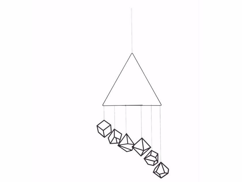 Steel wall hook MOBILE | Wall hook - Kristina Dam Studio