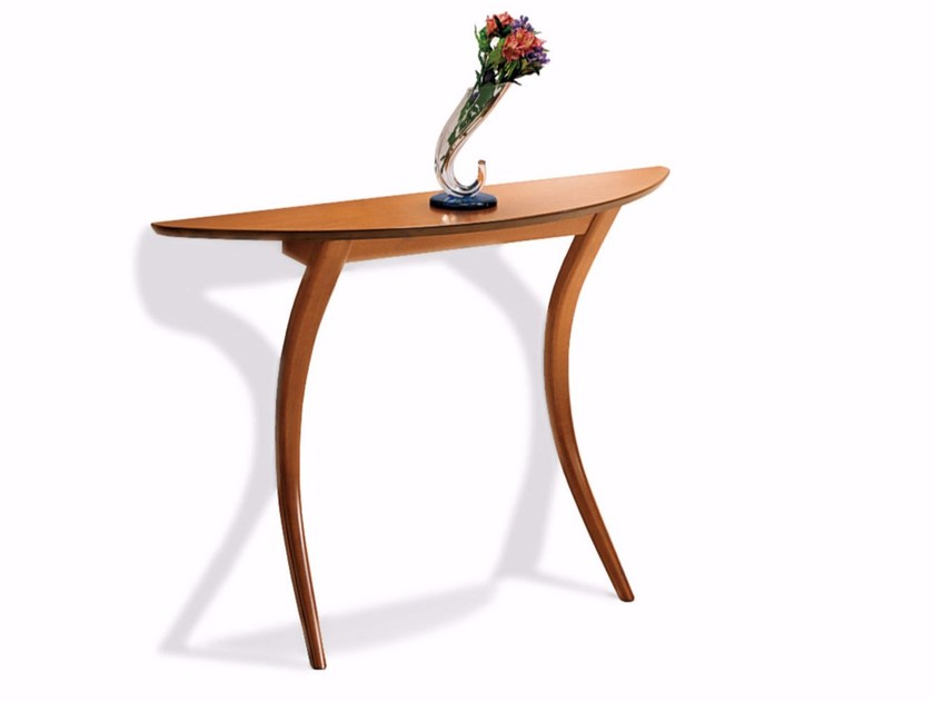 Demilune wooden console table MODÌ - Calligaris