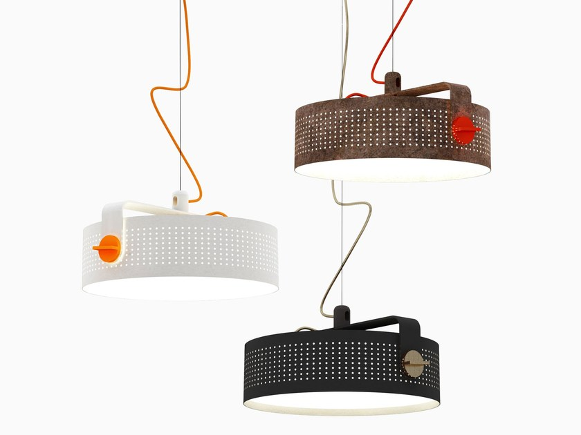 Adjustable pendant lamp MODENA - Martinelli Luce