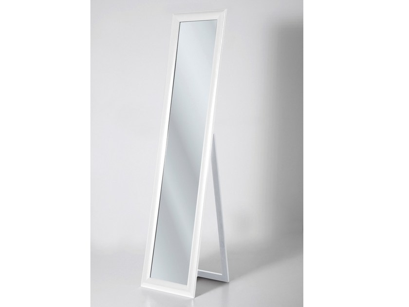 Rectangular framed mirror MODERN LIVING WHITE - KARE-DESIGN