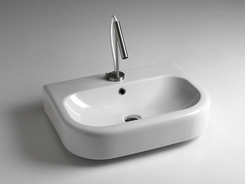 Contemporary style countertop washbasin MODERN SANITARY WARE | Countertop washbasin - BLEU PROVENCE
