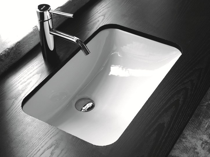 Contemporary style undermount washbasin MODERN SANITARY WARE | Undermount washbasin - BLEU PROVENCE