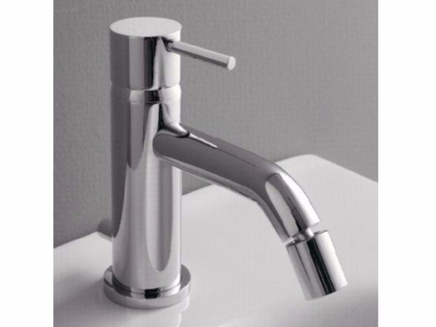 Countertop single handle bidet mixer MODO | Bidet mixer - ZAZZERI
