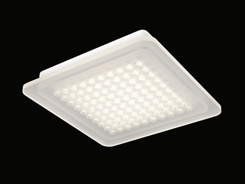 Ceiling luminaire with surface-mounted housing MODUL Q 100 SURFACE - Nimbus Group