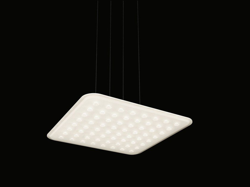 Suspended luminaire without ceiling mounted housing modul for Suspente luminaire