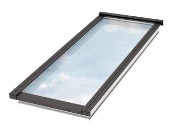 Finestra da tetto in acciaio e vetro modular skylights velux for Libreria velux