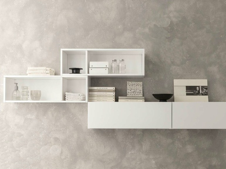 Wooden bathroom cabinet / wall cabinet MODULARITY - Pedini