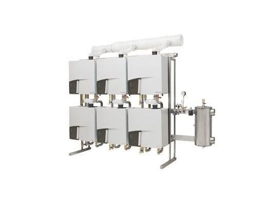 Sistemi modulari di generatori termici per riscaldamento MODUS aiQ - Rinnai Italia