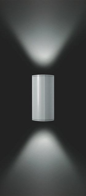 Direct-indirect light aluminium wall lamp MOK F.6913 - Francesconi & C.