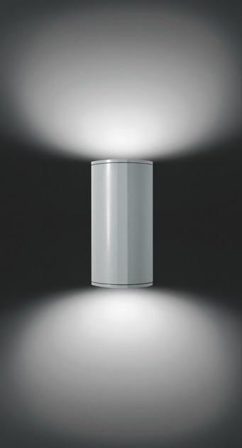 Direct-indirect light aluminium wall lamp MOK F.6919 - Francesconi & C.