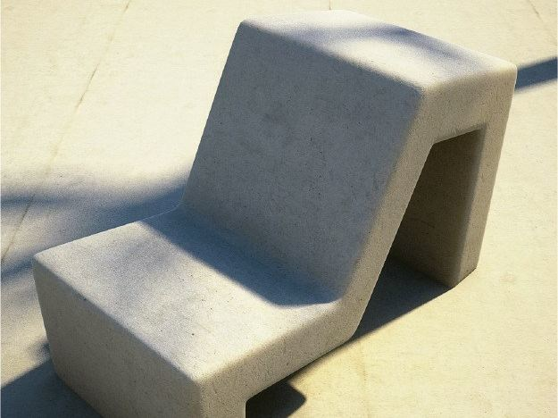 Concrete outdoor chair MOLD | Outdoor chair - SIT
