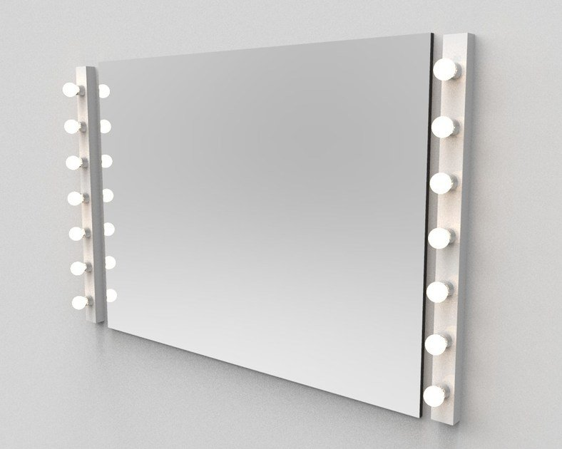 Contemporary style direct light fluorescent halogen wall light MOLINO | Wall lamp - luxcambra