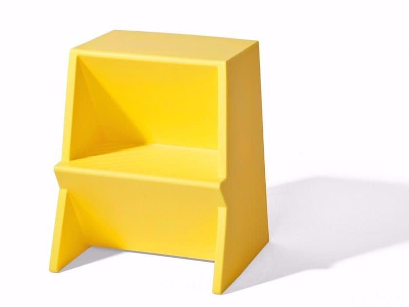 Low polyethylene stool MONO RELOADED - Richard Lampert
