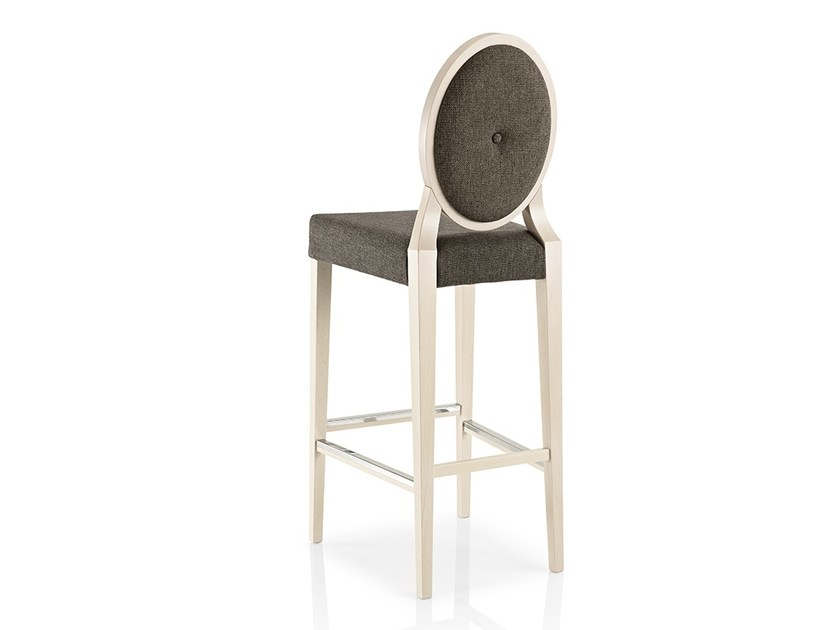 Fabric chair with footrest MONOLISA | Chair with footrest by JMS