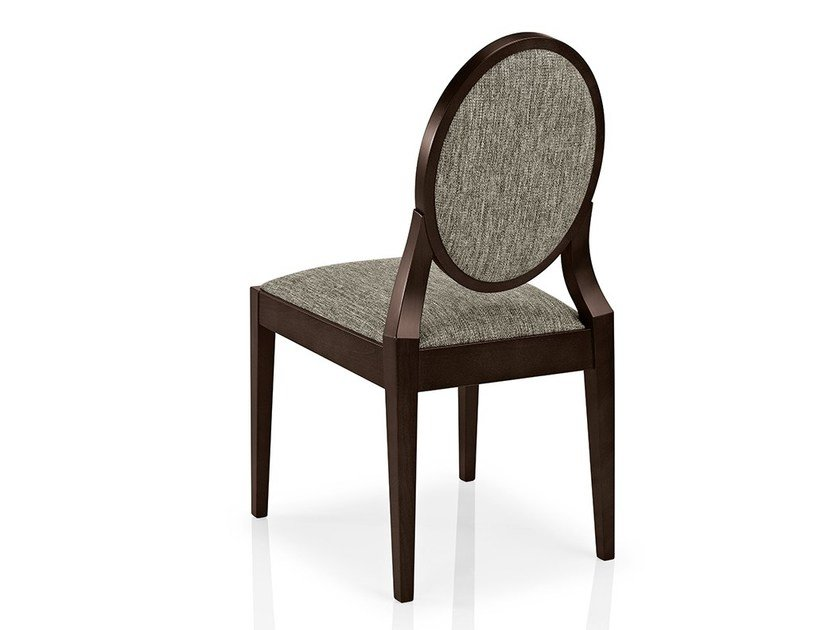 Upholstered fabric chair MONOLISA | Fabric chair by JMS