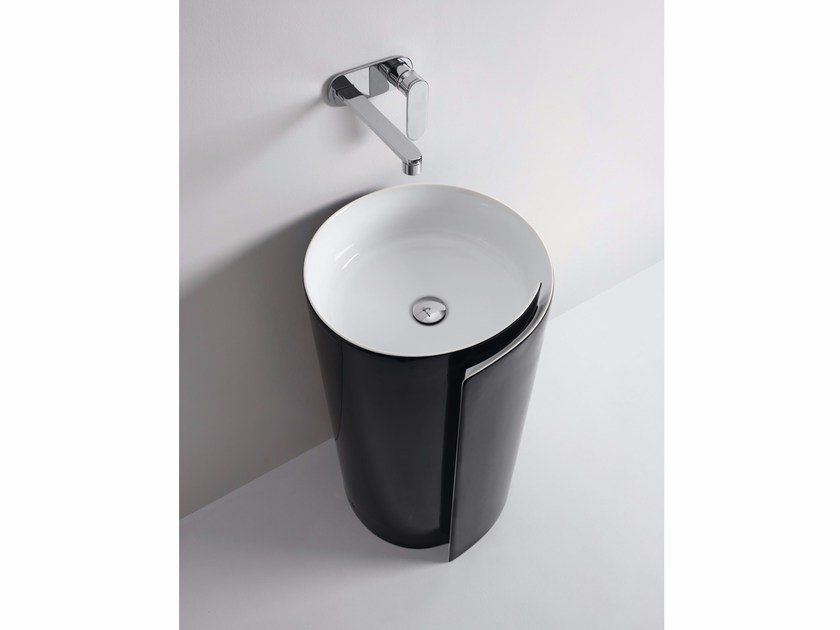 Ceramic washbasin MONOROLL | Washbasin by CERAMICA FLAMINIA
