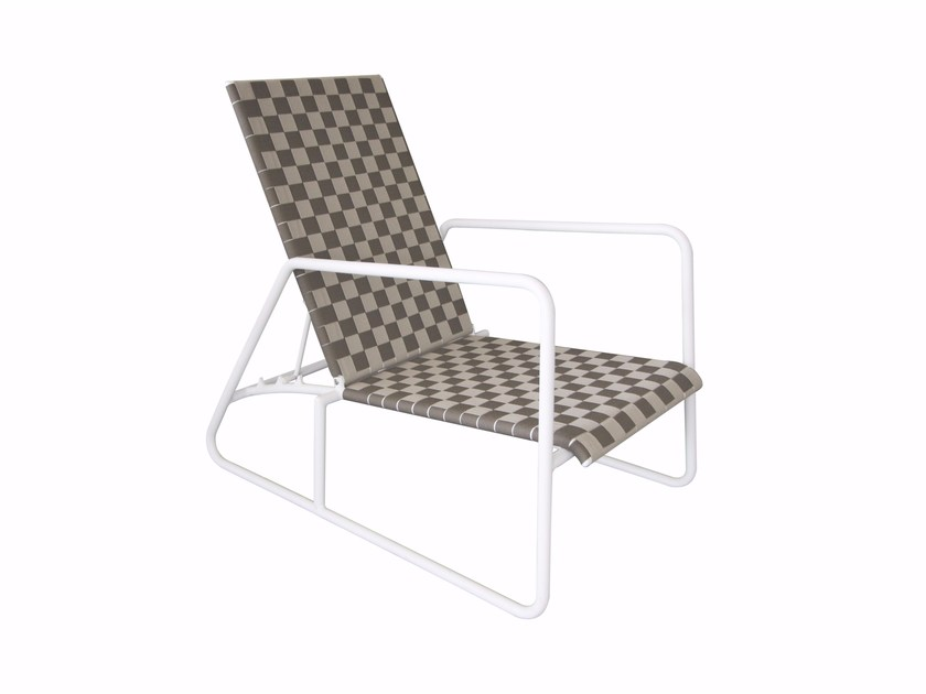 Recliner deck chair with armrests PANAMA | Deck chair - Sérénité Luxury Monaco