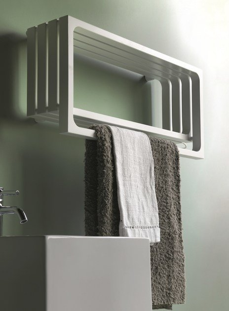Horizontal wall-mounted towel warmer MONTECARLO | Horizontal towel warmer - Tubes Radiatori