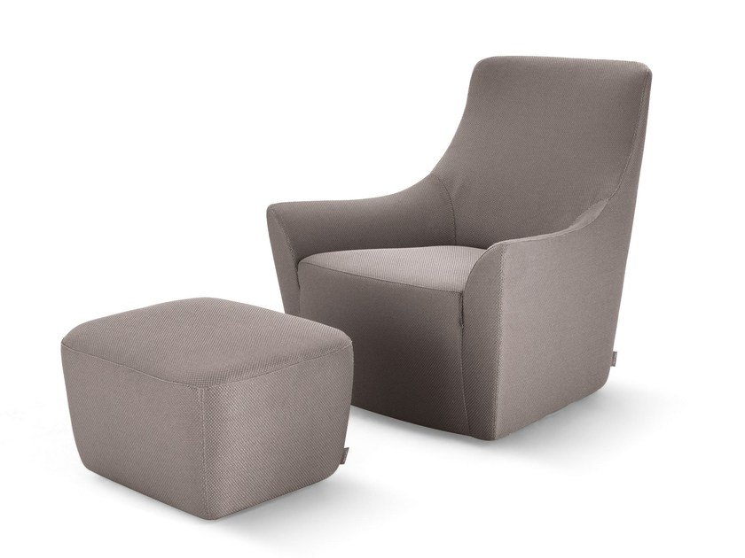 Armchair with armrests MONTERREY by Arketipo