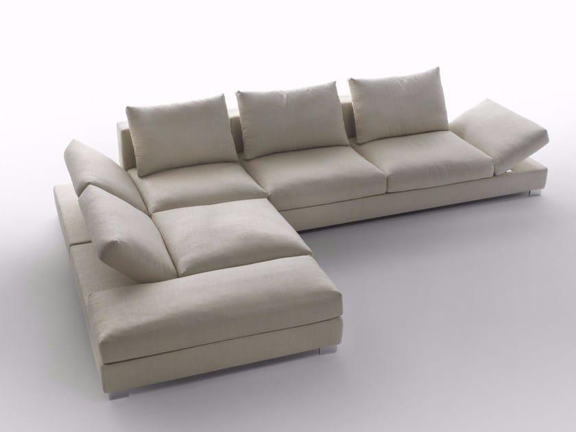Corner sectional sofa MOOD | Corner sofa by Marelli