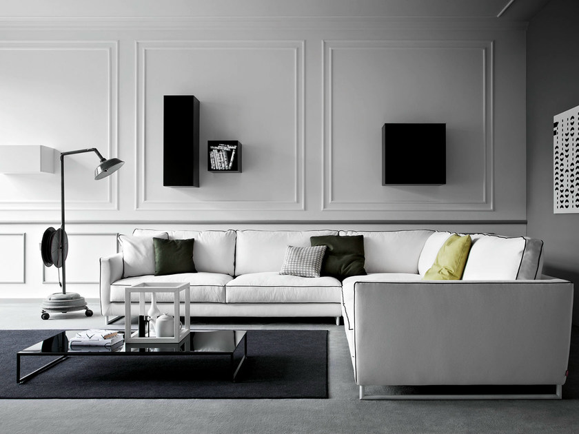 Corner fabric sofa MOOD | Corner sofa - PIANCA