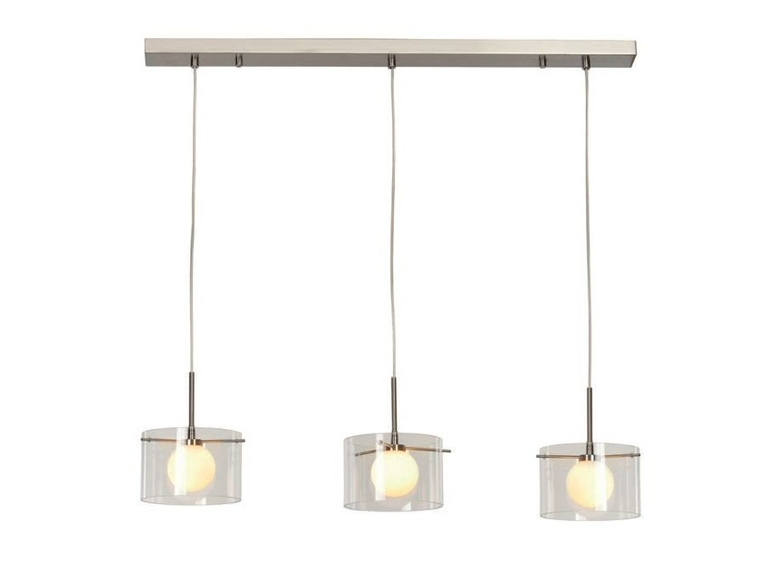 Glass pendant lamp MOON 3 - Aromas del Campo