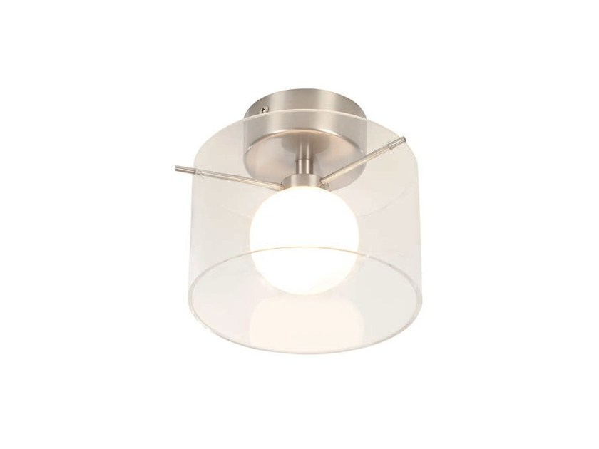 Opal glass wall lamp / ceiling lamp MOON | Wall light - Aromas del Campo